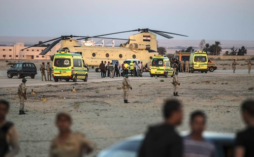 avião russo cai e deixa 224 mortos