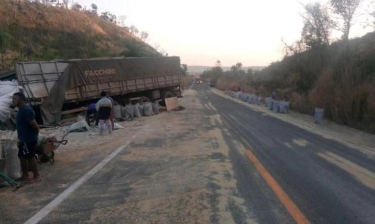 caminhões colisão jatobá colinas