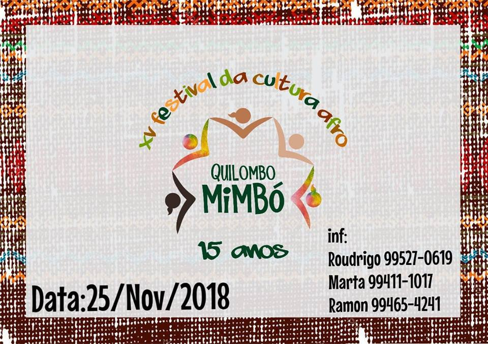 festival mimbó amarante consciência negra