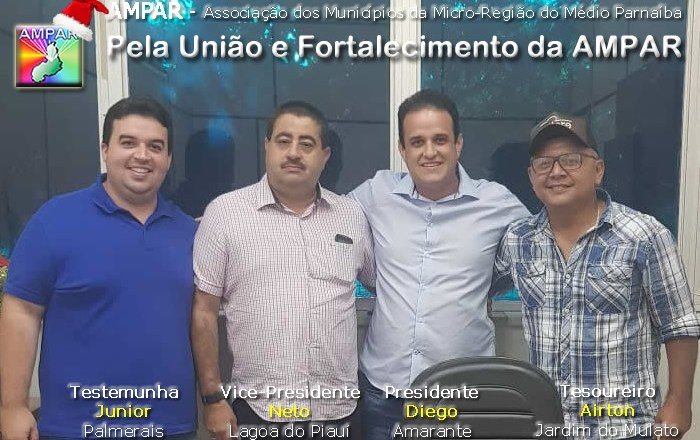 Diego Teixeira Ampar presidente