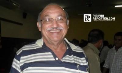 Ex-vice-prefeito de Piripiri covid-19