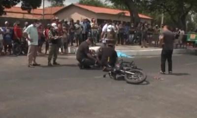 motociclista tem cabeça esmagada em grave acidente em Parnaíba