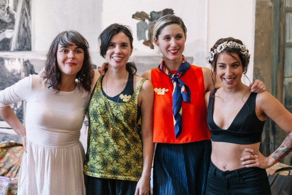2. Camila Moreno, Javiera Mena, Francisca Valenzuela, Denise Rosenthal, Ruidosa Fest 2016 x Rosario Oddo