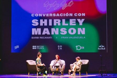 9. Conversation with Shirley Manson, Val Palavecino, Santiago, 2019