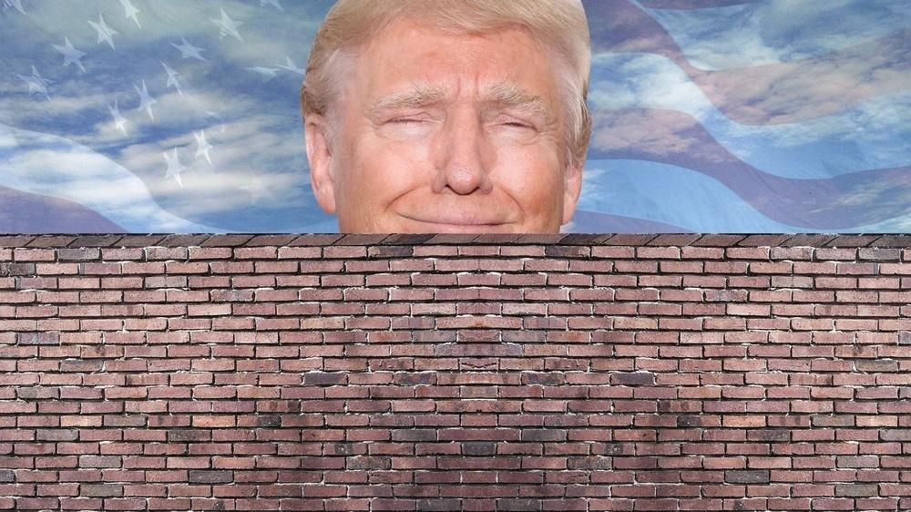 Desde este lado del muro o de cómo los suspiros producen grietas en tiempos de Trump