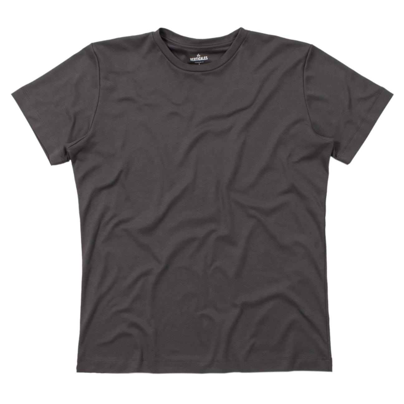 Franela gris esencial para hombre verticales