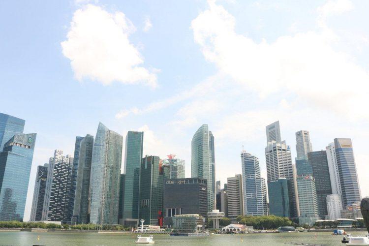 Centro financiero Singapur