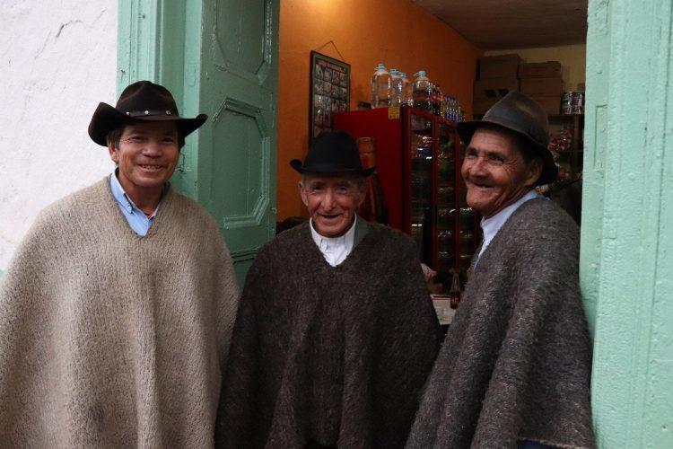 Campesinos el Cocuy