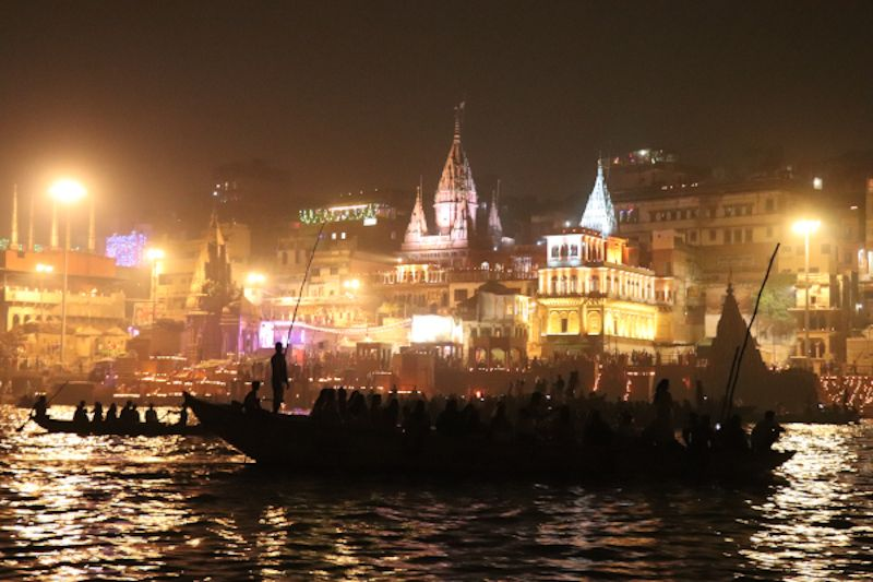 Bote Dev Diwali Varanasi India