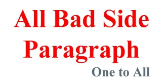 All Bad Side Paragraph | One to All