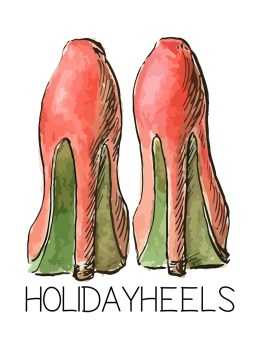 Holiday Heels Holiday Tee