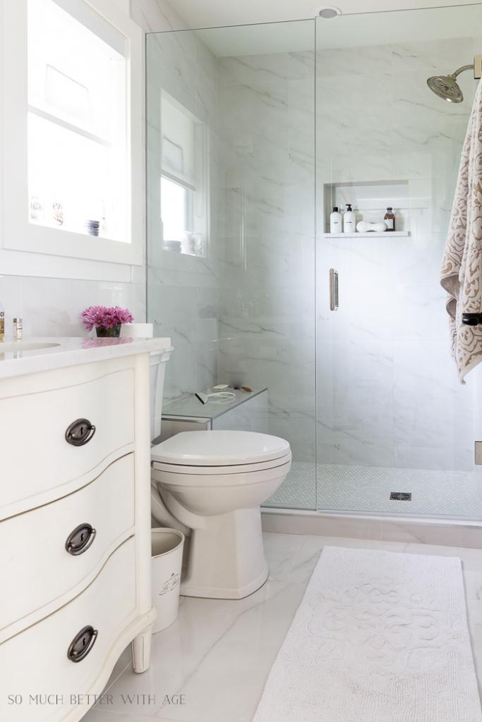 Bathroom Minimalism - How I Organize My Small Bathrooms ... on Space Bathroom  id=99111