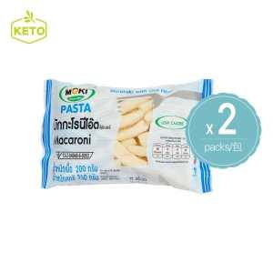 MOKI - 燕麥纖維蒟蒻通心粉 蒟蒻麵 2包裝 新包裝