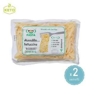 MOKI - 燕麥纖維 意大利寬條麵 蒟蒻河粉 粗麵 2包裝