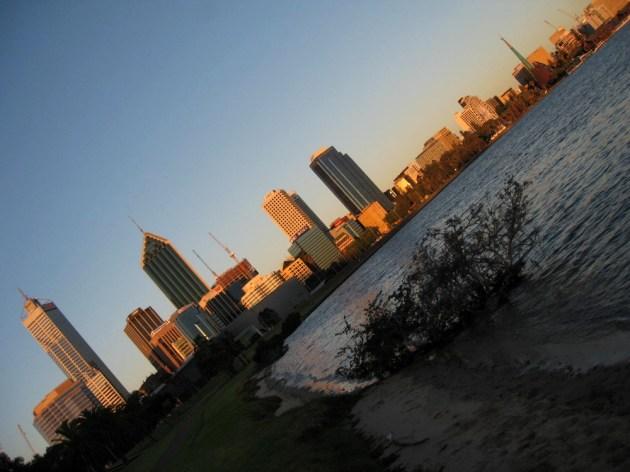 Perth Skyline & Waterfrot