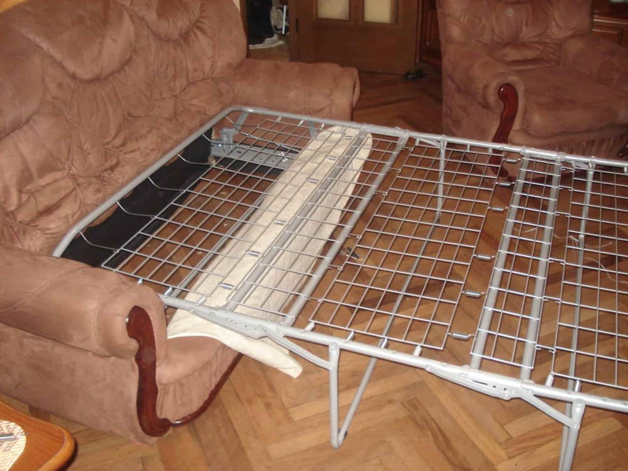 Замена гостевой французской раскладушки на механизм для ежедневного использования