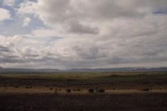 Ejemplo de los infinitos paisajes visibles en Islandia. A cada kilómetro un paisaje nuevo y sorprendente.