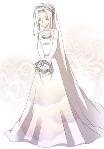 花嫁白シカ