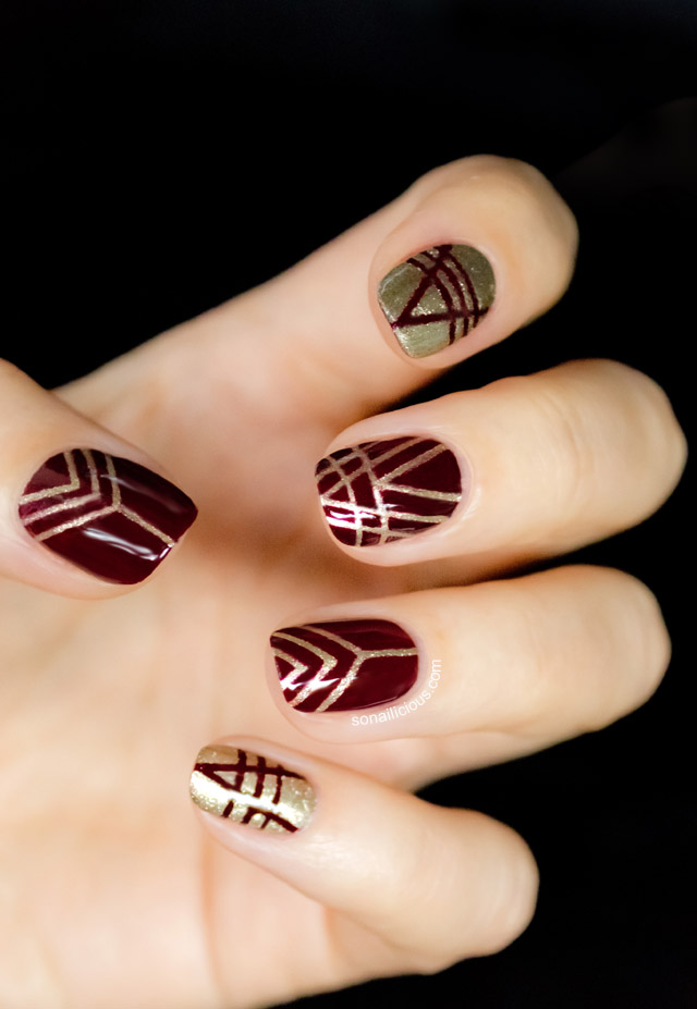 Art Deco Nails Revlon