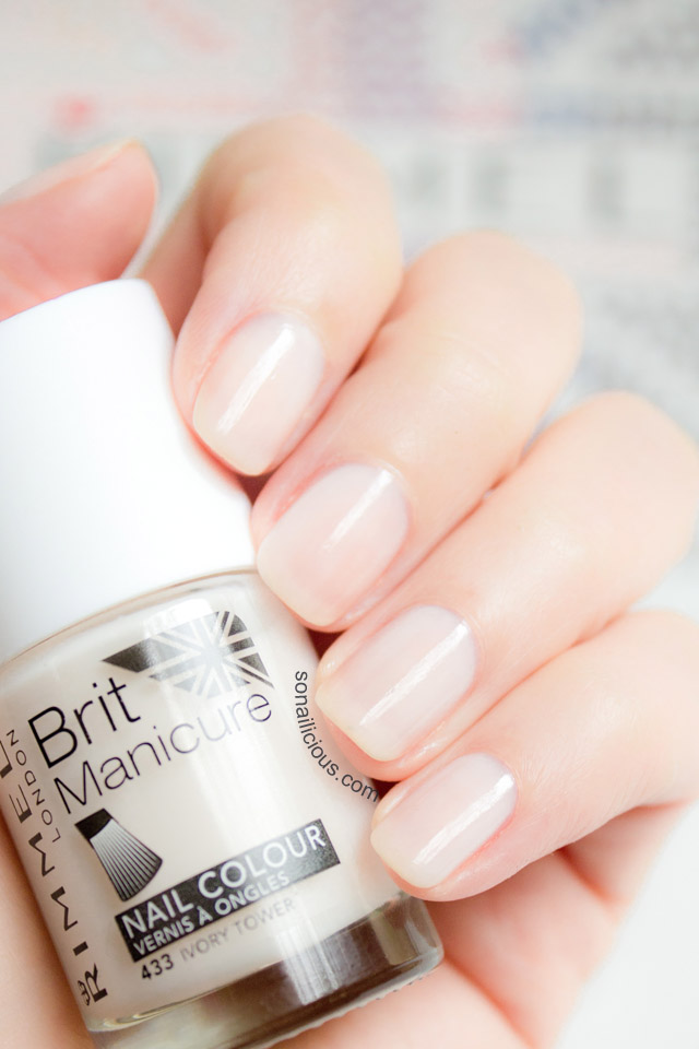 Rimmel Ivory Tower Brit Manicure