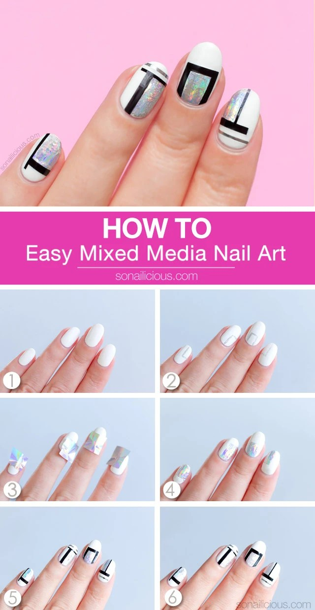 Simple Nail Art How Cool