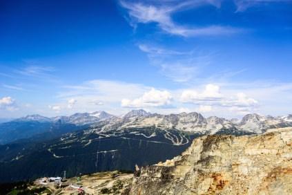 Whistler & Blackcomb Mountains, British Columbia, Canada