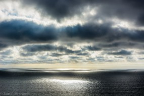 Dramatic clouds at North Head Lighthouse, WA