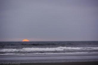 Glimpse of last Sun