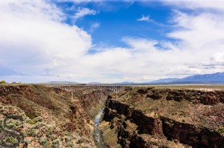 Rio Grande Gorge & Bridge - From West Rim Trail