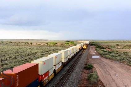Santa Fe railroad crossing, AZ