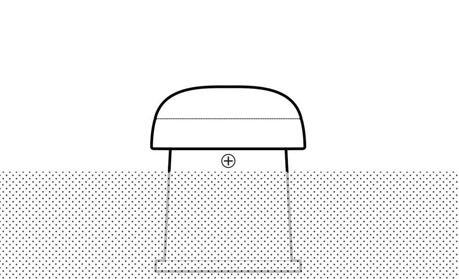 OMNI-6T - Grafik Lautsprecher eingegraben