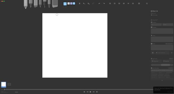 Storyboarder - Screenshot