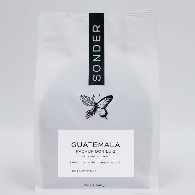 Pachup Don Luis Guatemala SONDER Coffee