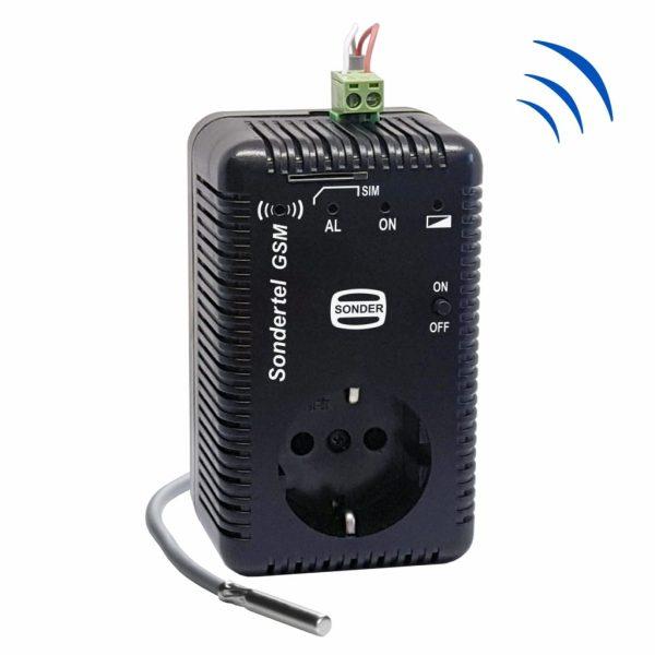 Control telefónico vía GSM
