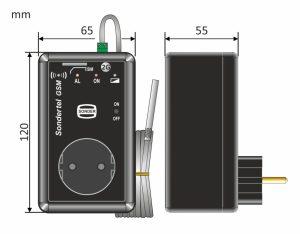 medidas del Sodnertel GSM
