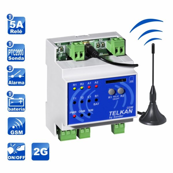 iconos Telkan 1 GSM 2G