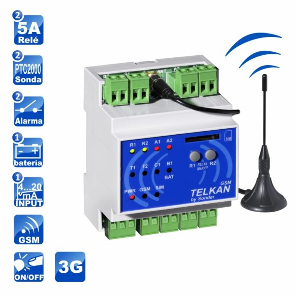 iconos Telkan 2 GSM 3G