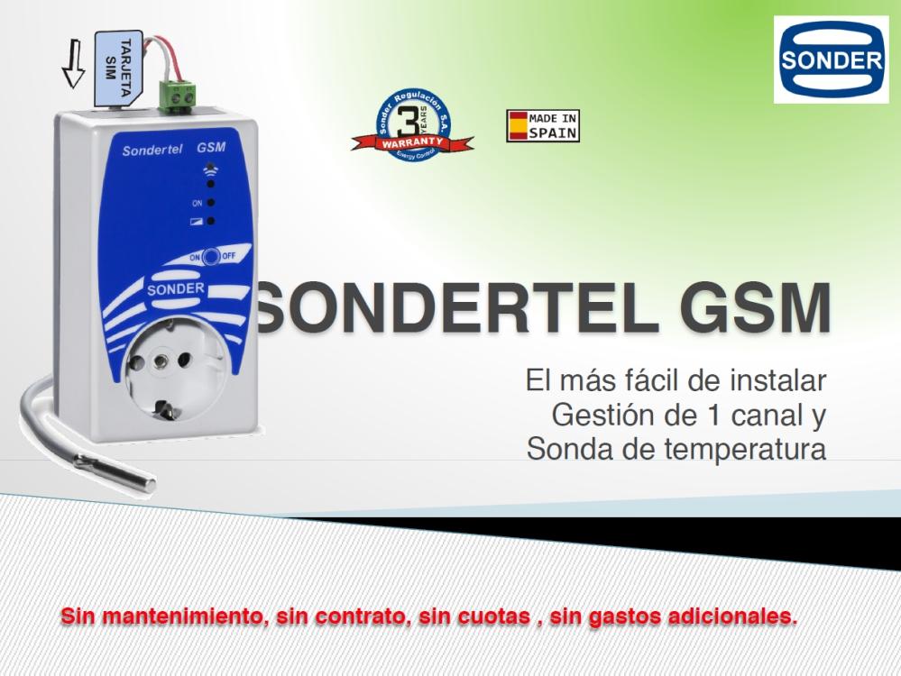 Presentación del sondertel GSM
