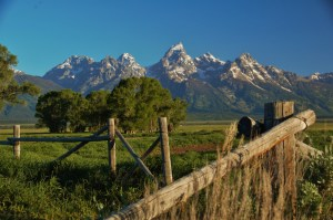 The Tetons--beautiful because the Creator made them. (photo by Robert Eaton)