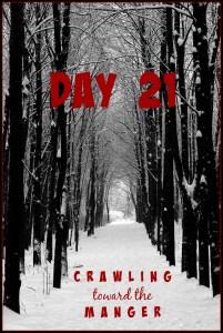 crawling toward the manger daily21