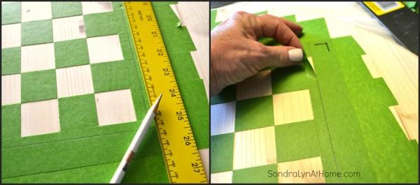 How to Make a Checkerboard-4- Sondra Lyn at Home