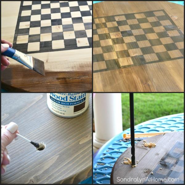 How to Make a Checkerboard-7- Sondra Lyn at Home