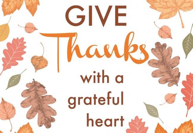 'Give Thanks' Thanksgiving Printable