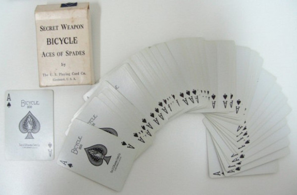 Колода карт Bicycle, состоящая из тузов пик