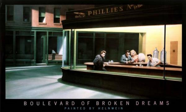 Helnwein - Boulevard of the Broken Dreams