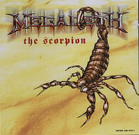The Scorpion - Megadeth single cover
