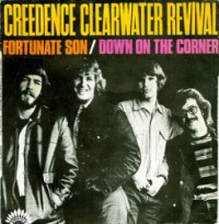 Fortunate Son - CCR single cover