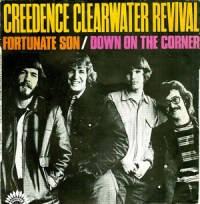 Fortunate Son - CCR single cover