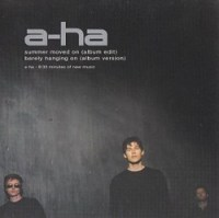 A-ha-Summer Moved On single cover