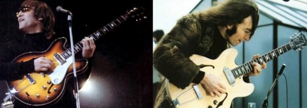 John Lennon Epiphone Casino guitars